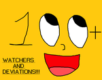 100+ Watchers and Deviations by EllieMcDoodler