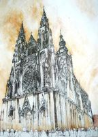 St. Vitus Cathedral by olalami
