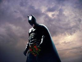 The Dark Knight Mourns by Morkos