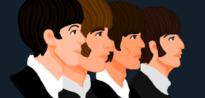The Beatles by PsychedelicHippie