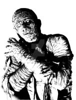Karloff as The Mummy by stephenburger