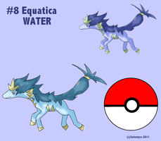 Fakemon EQUATICA by Solastyre