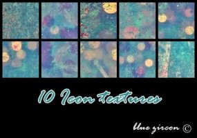 10 Grunge Bokeh Icon Textures by bluezircon-graphics