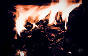 Cast into the fire by Grall19