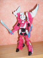 My New Deluxe Figure Arcee by HealerCharm