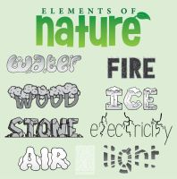 Elements of Nature by buizelmaniac