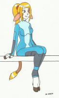 Commission: Barnyard Suit Samus 2 by cqmorrell
