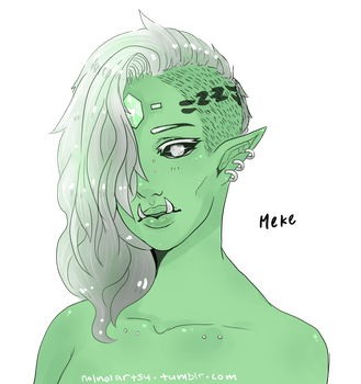 orc lady by lurib