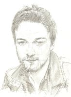 James McAvoy by bcstroud