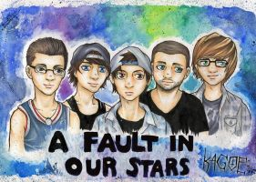 *A Fault In Our Stars* by Kagoe