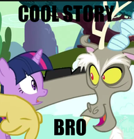 cool story bro by embryonicContraption