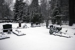 Winter Cemetary 001 by neverFading-stock