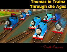 Thomas in Trainz Through the Ages by DarthAssassin