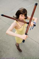 Selphie - Glancing Through by The-Cosplay-Scion