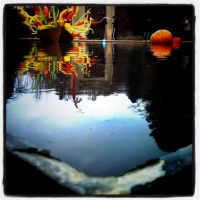 Chihuly pond by uniquestagram