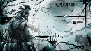 mgs3  big boss by niceler