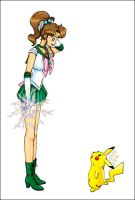 Sailor Jupiter - Pika-pika? by astra3000