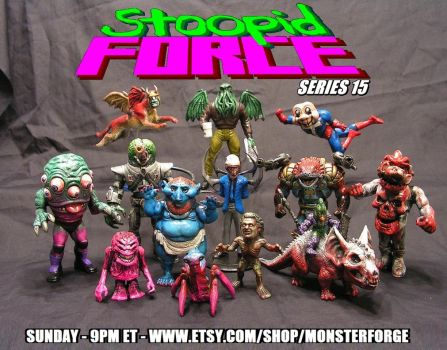 Stoopid Force series 15 by monsterforge