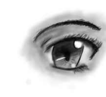 An eye in photoshop by AutumnHawk