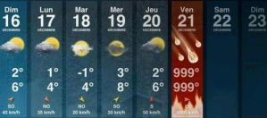 The weather for next week. . . by iKream