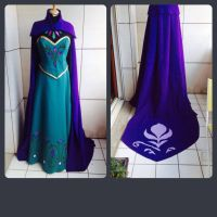 Elsa coronation dress by AsheDalmasca