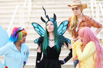 MLP Cosplay:Evil Rises by Awesome-Vivi