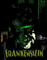 Frankenstein Collage by zomberinacontagion