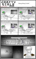 Minecraft Comic: CraftyGirls Pg 13 by TomBoy-Comics