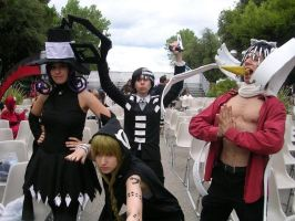 Soul Eater group by MirrorDancer