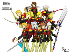 Dissidia FF Agito +finished+ by pikajo