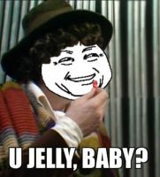 Doctor Who U Jelly Baby by requin