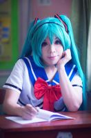 Hatsune Miku - Taking Notes~ by KurotenshiDai