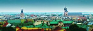 Krakow tilt shift by crh