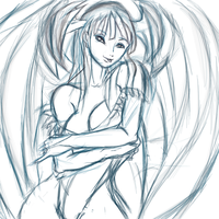 Morrigan sketch by mechaguy