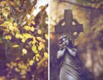 autumnal diptych by Isselinai