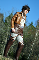 Eren Jaeger Cosplay - On the field by Kozekito