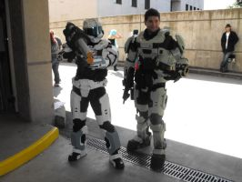 Halo cosplayers by AbbieGoth
