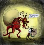 krampus by RavenBlackCrow