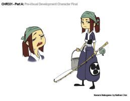 Character design: Nanami by Limited-Access