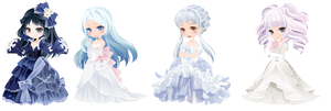 Rich Blue Lady Dreamselfy Adopts :C: by TheCPBase