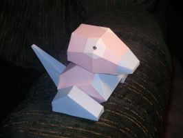 Porygon Papercraft by Skeleman