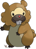 Bidoof by Xous54