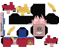 Luffy Gear Second by hollowkingking