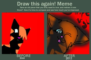 How Much I Improved - Meme by SkittlezArts