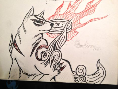 Sketchbook - Amaterasu by shudso