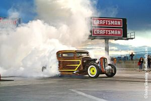 Burnout at the RRR 2 by ButterflyLady
