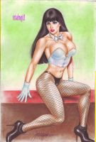ZATANNA art by JUN DE FELIPE by rodelsm21