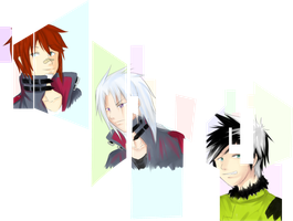 VT: Week 7 Extra: Albie, Weiss, and Cyrus by ShinYuugen