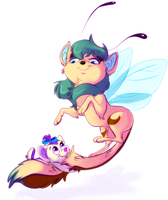 Learning to fly, almost. by Konnestra