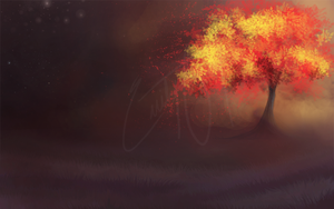 Ancient Tree of Fire by PlumiiraCreature